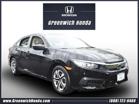 Certified Pre-Owned 2016 Honda Civic Sedan 4dr CVT LX